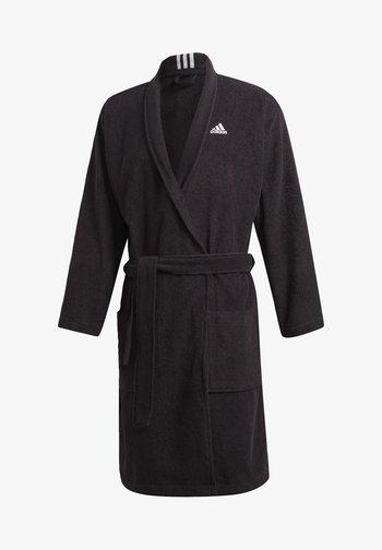 BATHR VALUE UX SWIM COTTON BATHROBE - Dressing gown - black