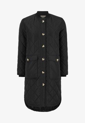 EILEEN - Classic coat - black
