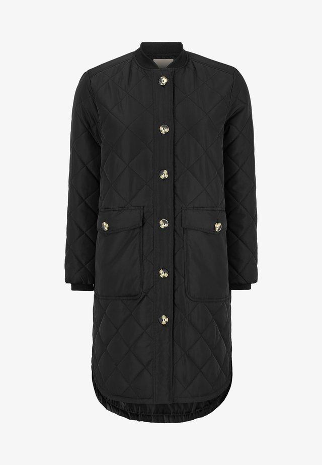 EILEEN - Klassisk frakke - black