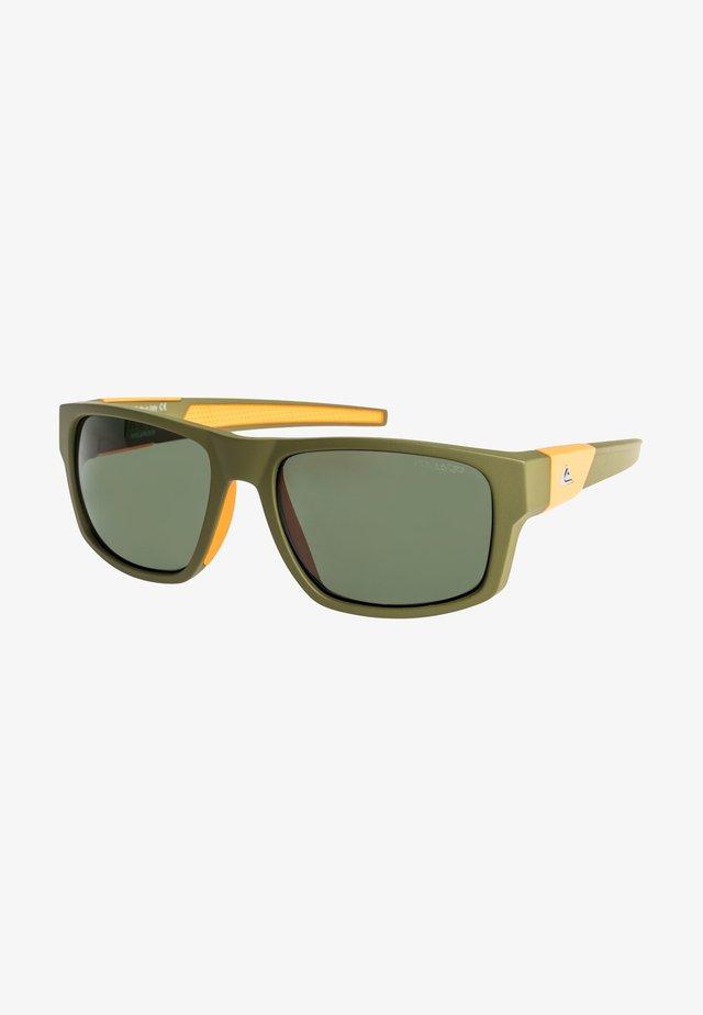 Sunglasses - matt kaki orange/green polari