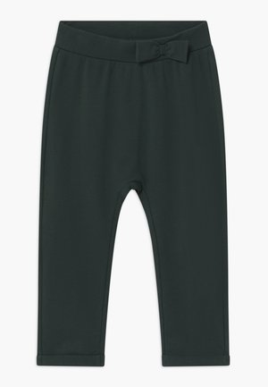 NMFLASOLID - Tracksuit bottoms - darkest spruce