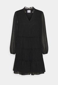 VILA PETITE - VIDITA DRESS - Cocktail dress / Party dress - black - 4