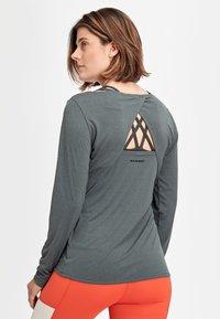 Mammut - LONGSLEEVE - Sports shirt - phantom melange - 1