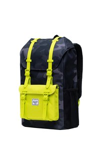 Herschel - LITTLE AMERICA YOUTH - Rucksack - night camo/lime punch - 2