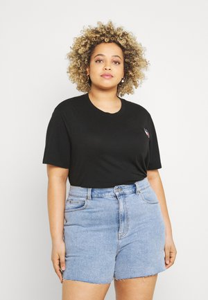 HOMESPUN HEART TEE - Print T-shirt - black