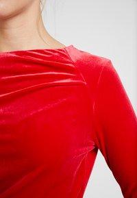 InWear - NISAS DRESS - Vestido de cóctel - real red - 7