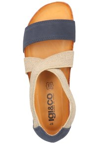 IGI&CO - Wedge sandals - blue - 1
