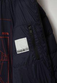 Napapijri - CIRCULAR PUFFER - Winter jacket - blu marine - 4
