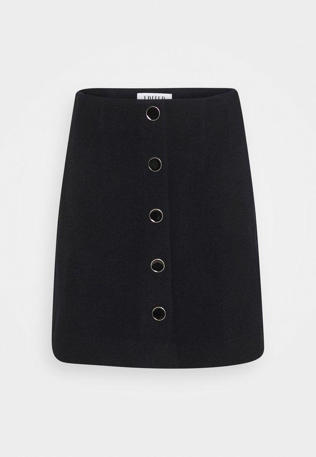 IRIS SKIRT - Spódnica trapezowa - blau