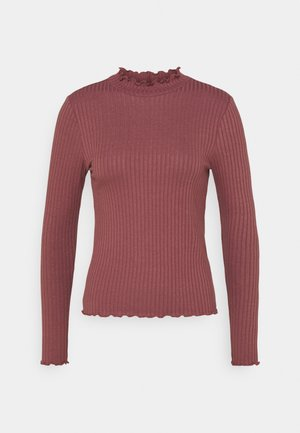 JDYFRANSISKA - Long sleeved top - rose brown