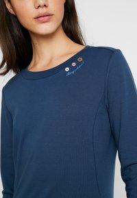 Ragwear - MENITA - Korte jurk - denim blue - 4