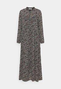 Moss Copenhagen - GLORIE RIKKELIE  DRESS - Maxi dress - black - 0