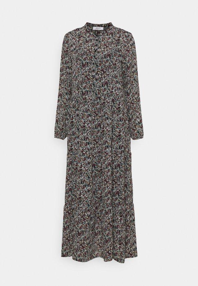 GLORIE RIKKELIE  DRESS - Długa sukienka - black