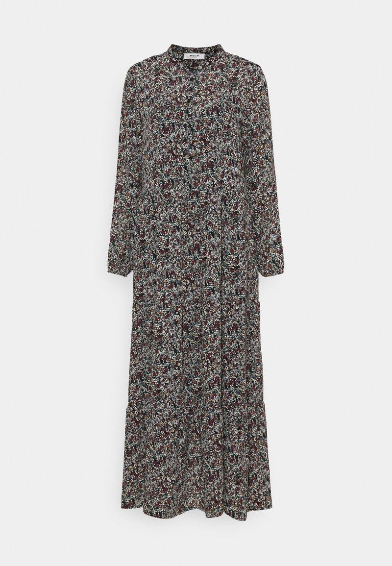 Moss Copenhagen - GLORIE RIKKELIE  DRESS - Maxi dress - black