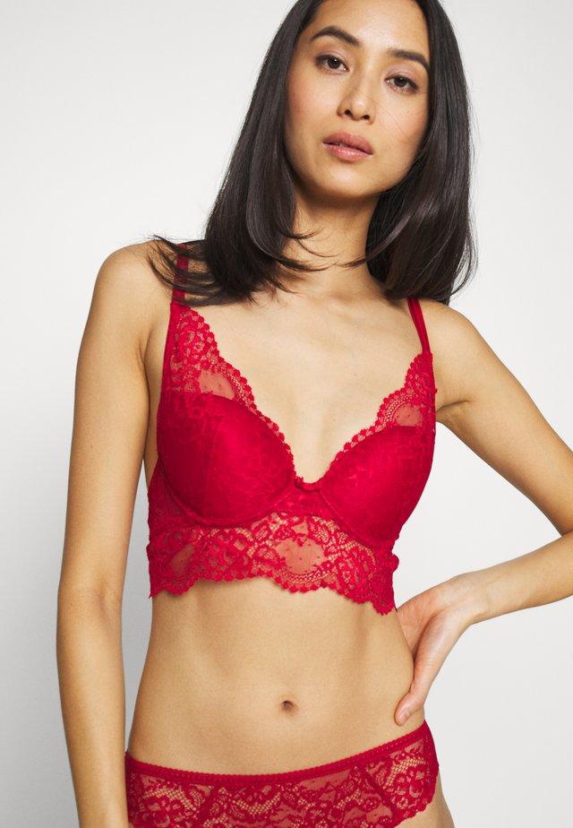 IMPRUDENTE - Triangle bra - rouge