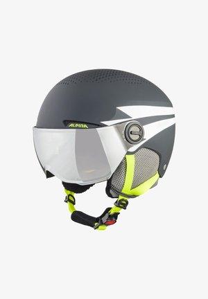 ZUPO - Helmet - charcoal-neon matt