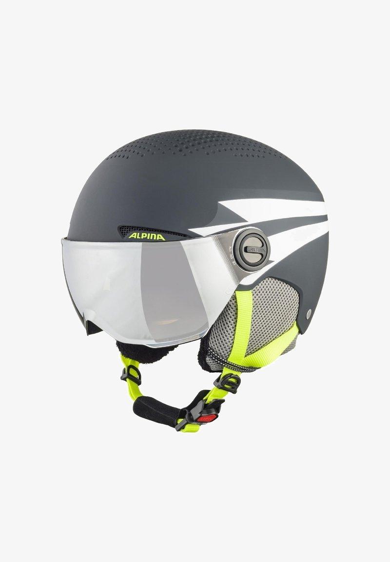 Alpina - ZUPO - Helm - charcoal-neon matt