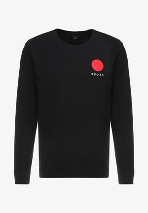 JAPANESE SUN UNISEX - Long sleeved top - black