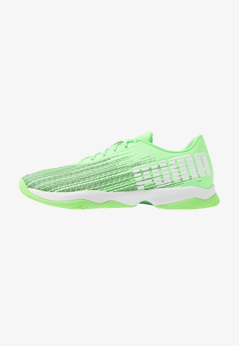 Puma - ADRENALITE 4.1 - Obuwie do piłki ręcznej - elektro green/white/black