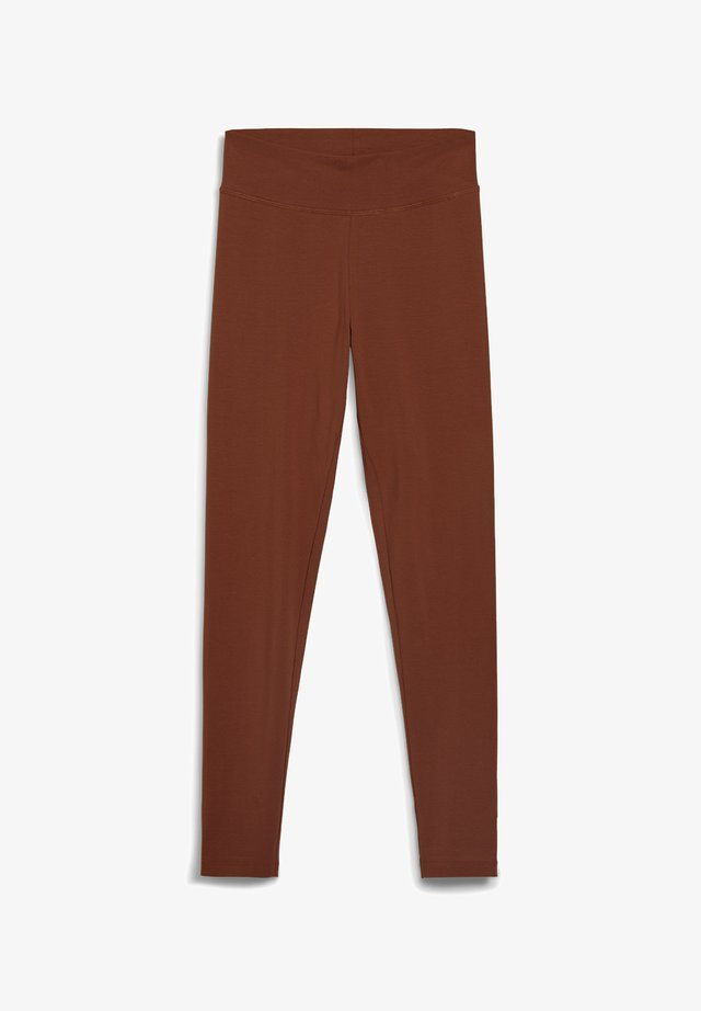 Leggings - Trousers - cacao