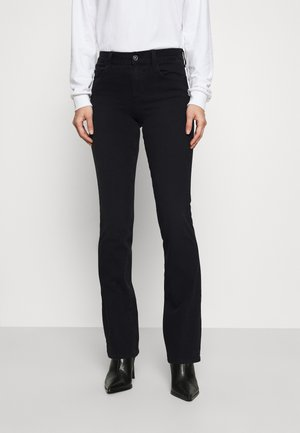 Bootcut jeans - denim black