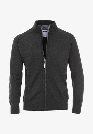 Zip-up sweatshirt - silber