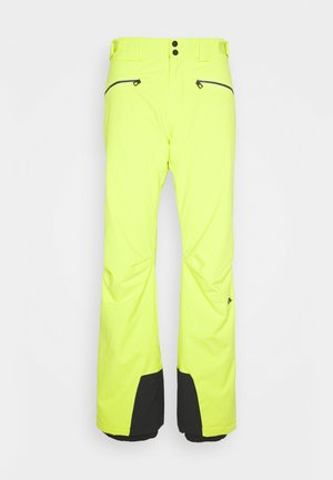 TRUULI SKI PANT - Zimní kalhoty - leaf yellow