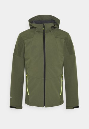 BENDON - Kurtka Softshell - dark olive