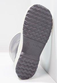 Bergstein - RAINBOOT - Botas de agua - dark grey - 4