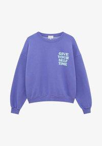 PULL&BEAR - Sweatshirt - mauve - 4