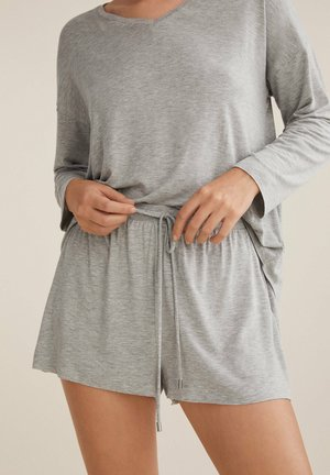 Pyjama bottoms - light grey