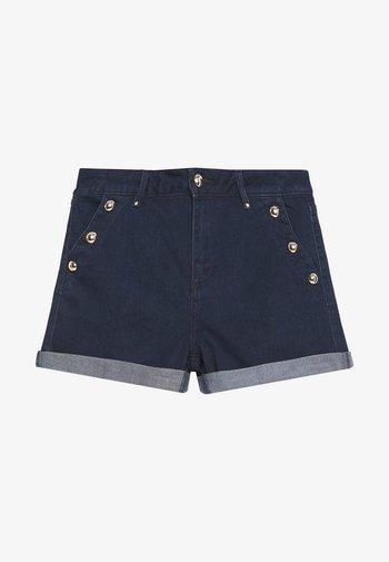 Denim shorts - brut