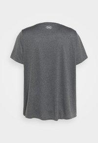 Under Armour - TECH - Camiseta básica - carbon heather - 1