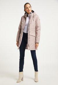 DreiMaster - Winter coat - nude melange - 1