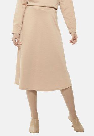 ROCK - A-line skirt - brown