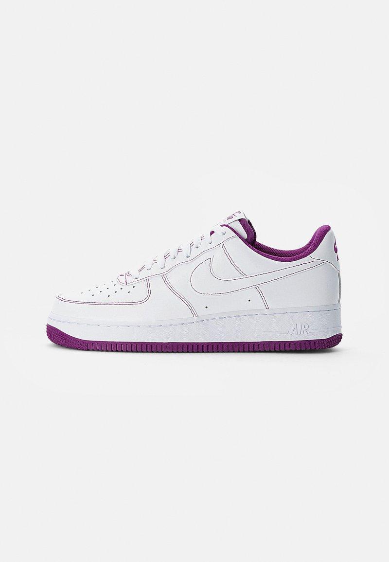 Nike Sportswear - AIR FORCE 1 STITCH - Zapatillas - white/white-viotech