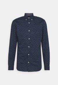 JJFRANK PLAIN - Shirt - navy blazer
