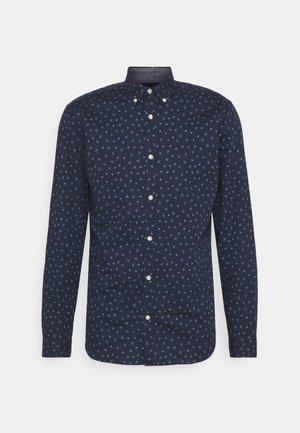 JJFRANK PLAIN - Skjorta - navy blazer