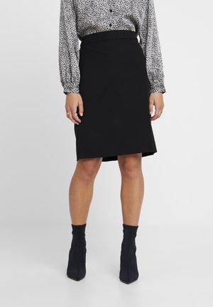 PENCIL NEW - Pencil skirt - black