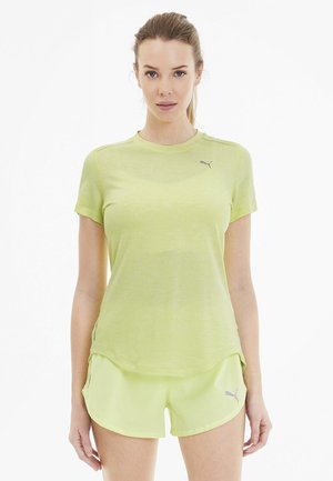 IGNITE  - Print T-shirt - sunny lime heather