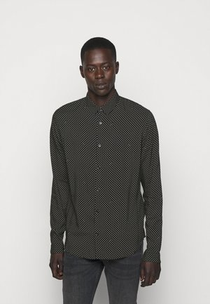 CHEMISE - Shirt - black/white