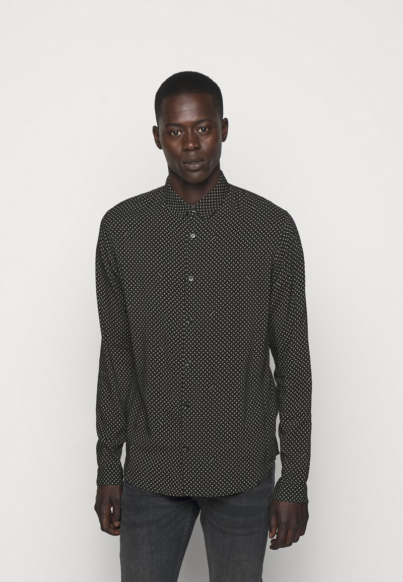 The Kooples - CHEMISE - Shirt - black/white