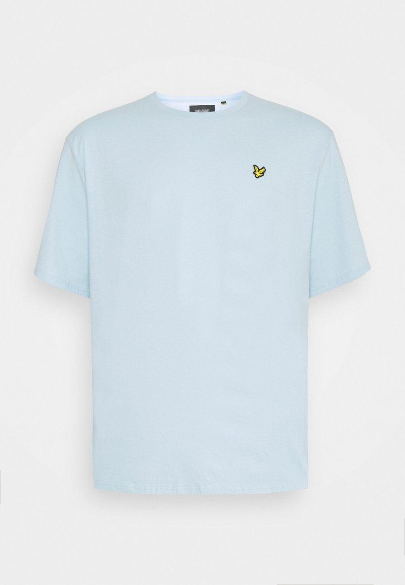 Lyle & Scott - PLAIN - T-shirt - bas - deck blue