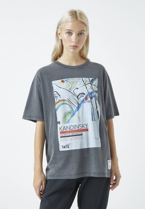 T-shirt z nadrukiem - dark grey
