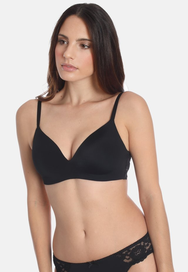 SOFT-BH  - Triangle bra - black