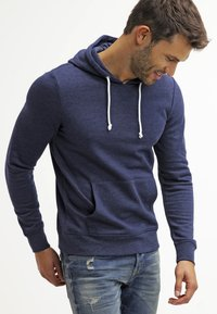 Pier One - Sweat à capuche - dark blue melange - 0