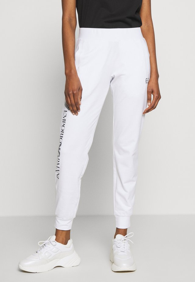 TROUSER - Trainingsbroek - white/navy