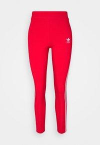 adidas Originals - STRIPES COMPRESSION - Leggings - Trousers - red - 6