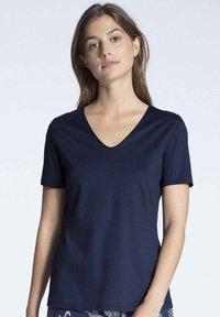 Calida - Pyjama top - dark blue - 0