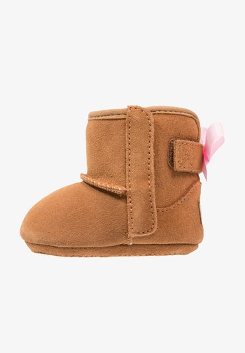JESSE BOW II - First shoes - chestnut